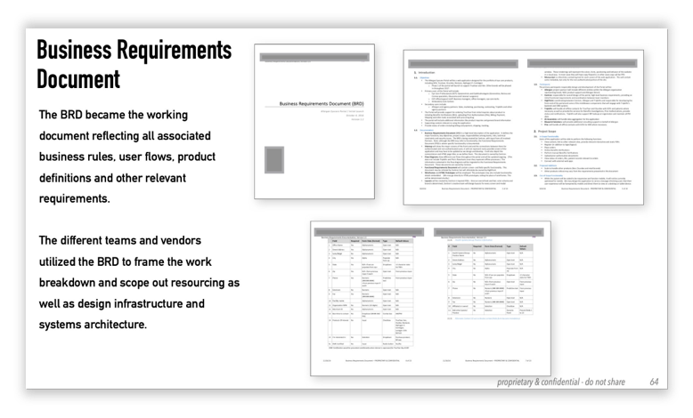 business requirements doc